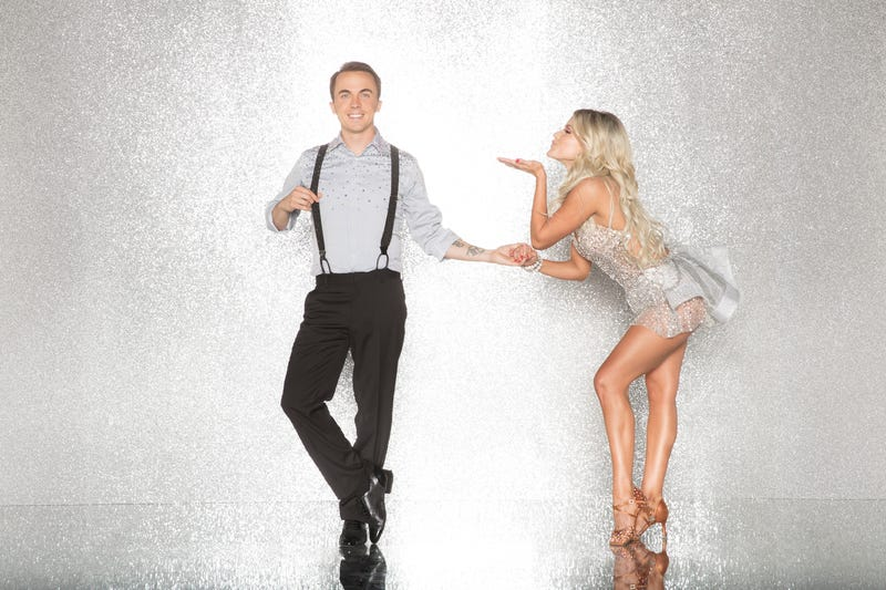 Dancing star Frankie Muniz and dancing Dancing With The Stars star Witney Carson (Photo: ABC/Craig Sjodin)