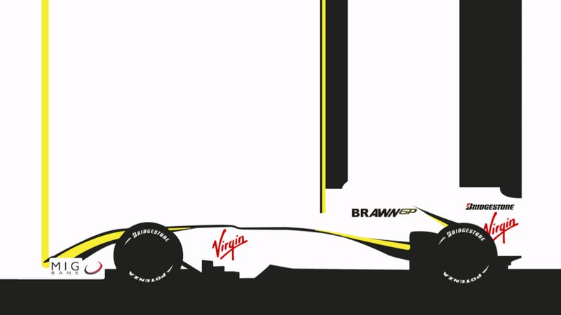 Illustration for article titled Your Ridiculously Awesome Brawn BGP 001 Wallpaper Is Here