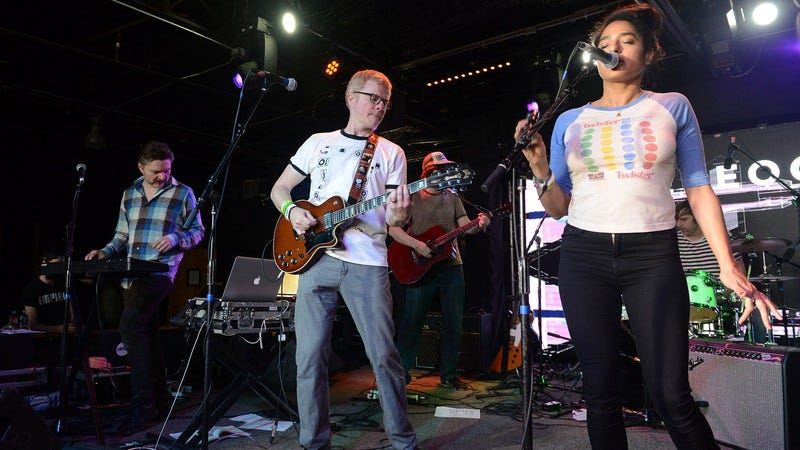 The New Pornographers at SXSW 2017 (Photo: Scott Dudelson/Getty)