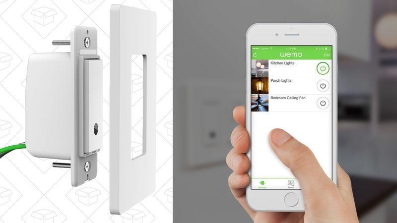 Interruptor inteligente WeMo | $30 | AmazonGráfico: Shep McAllister