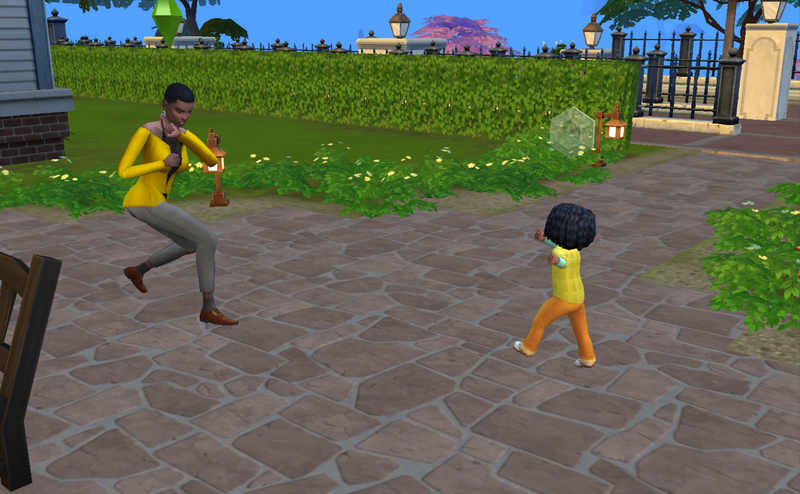 Sims 4 Mod Lets You Square Up With Your Toddlers