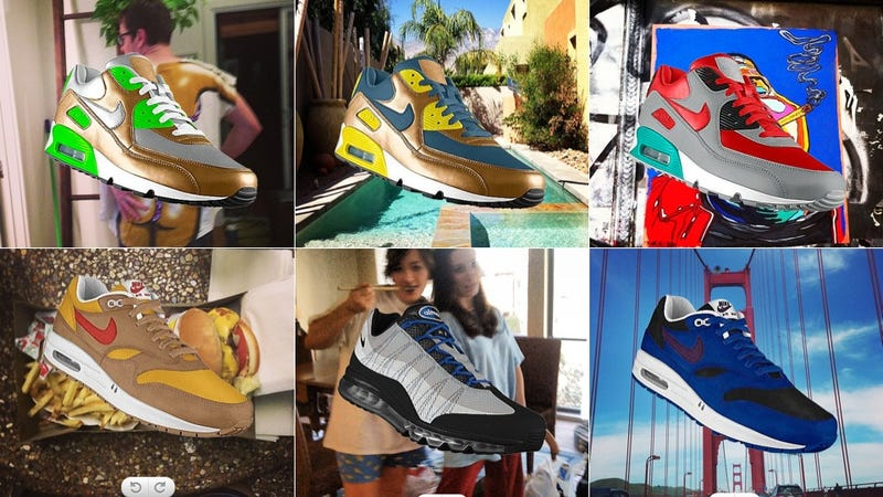Illustration for article titled Nike PHOTOid: Design Awesome Kicks Inspired by Your Instagrams