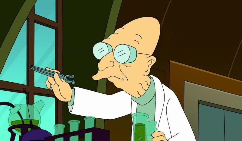 Illustration for article titled I need a big Futurama / Farnsworth expert.
