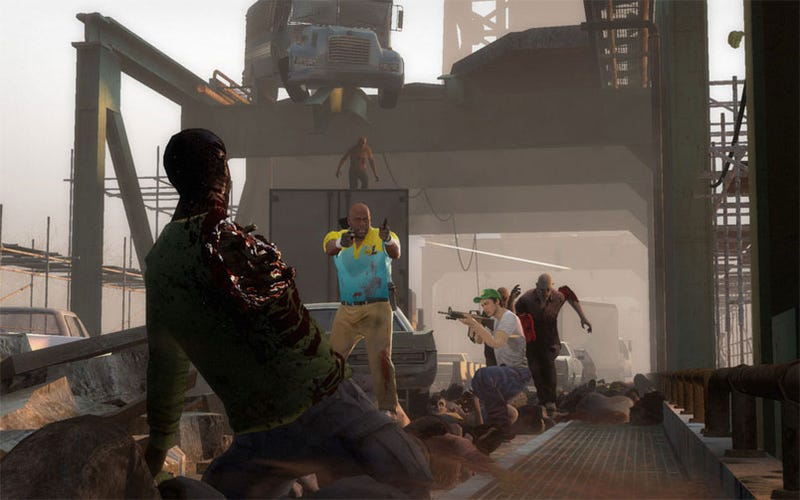 Illustration for article titled Left 4 Dead 2 Has Bulletproof Zombies Too