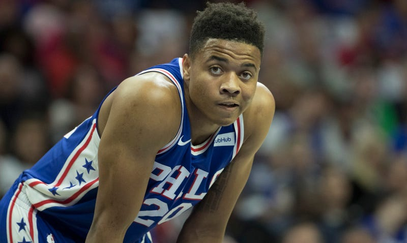 Markelle Fultz has fluid drained from right shoulder
