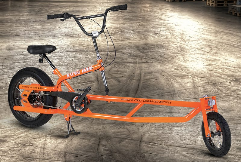 Dragster Bicycles Prove Once And For All Who S Fastest On Two Wheels