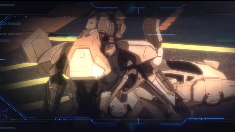 A very nice lookin' giant robot.
