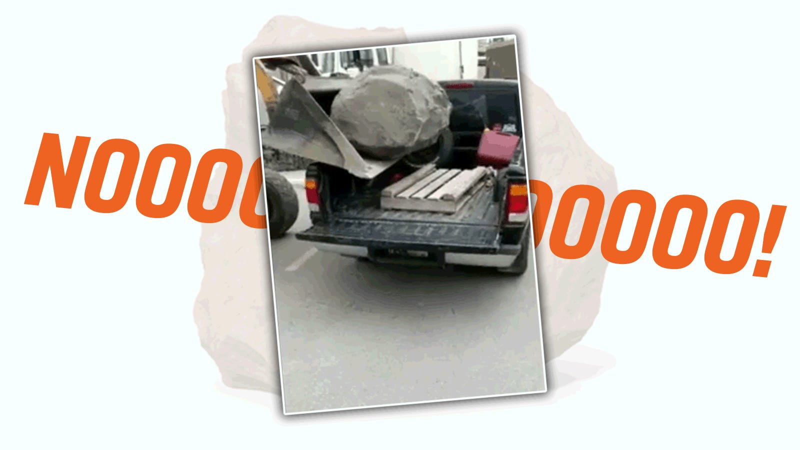 Watch A Boulder Remind A Ford Ranger Owner That Payload Capacities Are A Real Thing
