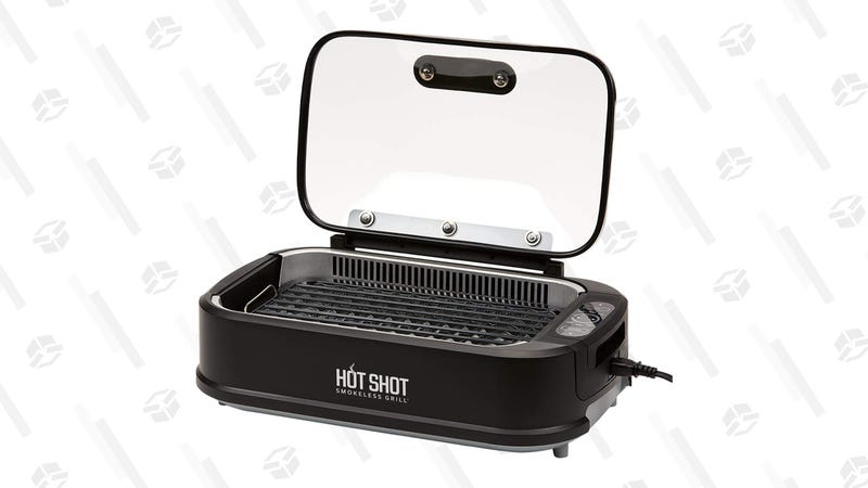Hot Shot Indoor Electric Smokeless Grill | $89 | Amazon