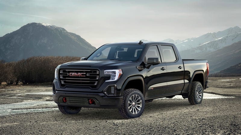 The 2019 GMC Sierra AT4 Is The First Of The Brand's New ...