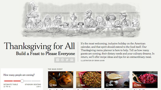 Illustration for article titled Build the Perfect Thanksgiving Menu with This Meal Planner