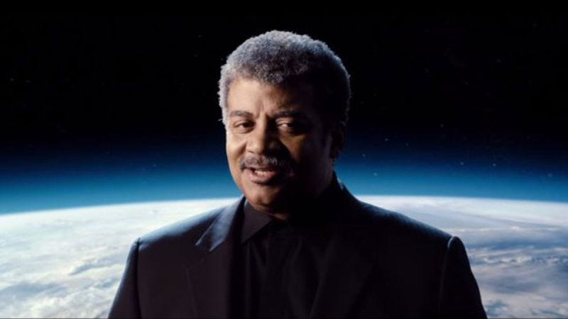 Illustration for article titled Neil DeGrasse Tyson tampers with a force of terrible power: Movie spoilers