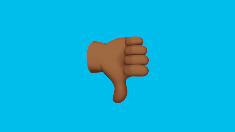 Illustration for article titled Why Is a White Man Telling a White Woman When to Use Brown Emoji Hands?