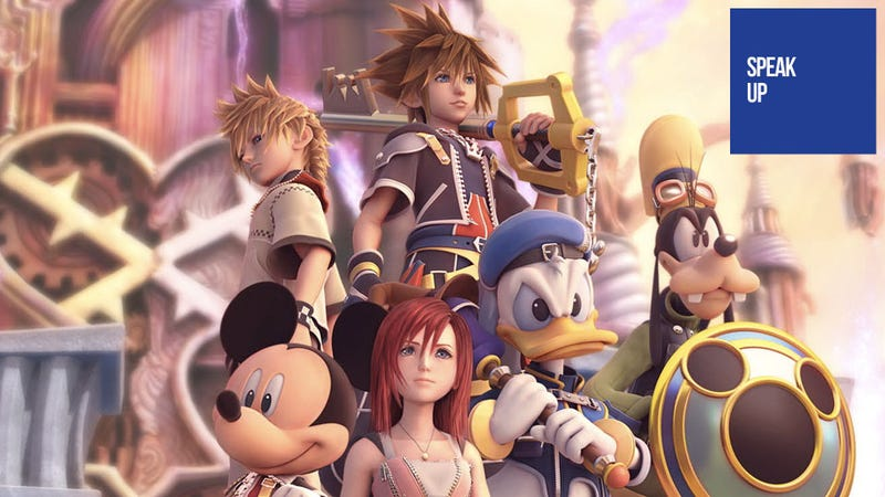 Illustration for article titled It Only Takes 30 Games and 80 Movies to Get the Full Kingdom Hearts Experience