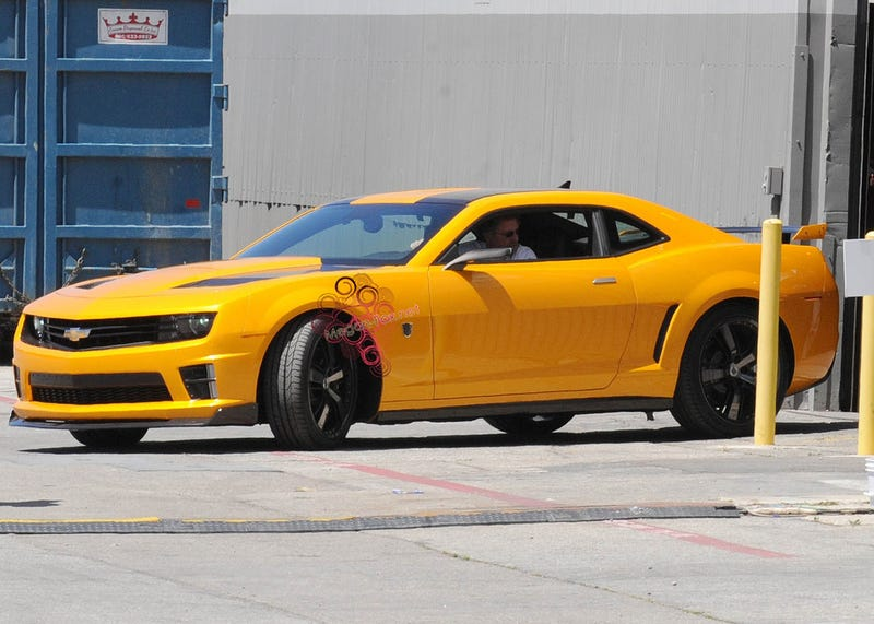 Illustration for article titled Bumblebee Camaro Gets New Body Kit For Transformers 3
