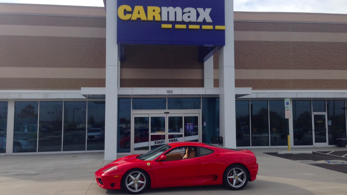 Here S What Happened When I Tried To Sell My Ferrari To Carmax