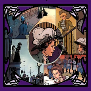 """Illustration for article titled Celebrating the radical suffragette """"Amazons"""", one hundred years later"""