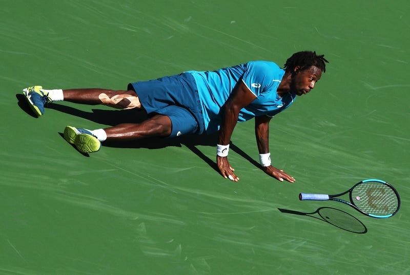 Illustration for article titled For Gael Monfils, The Play Is The Reason For The Work
