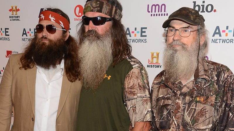 Illustration for article titled Duck Dynasty Star Has Been Preaching Anti-Gay Sermons For Years