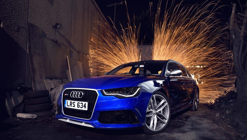 Illustration for article titled Drool Over The Audi RS6 Avant Because It's All They'll Let You Do