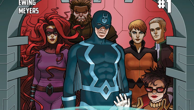 Illustration for article titled I Am Suddenly Incredibly Interested in Reading an Inhumans Comic