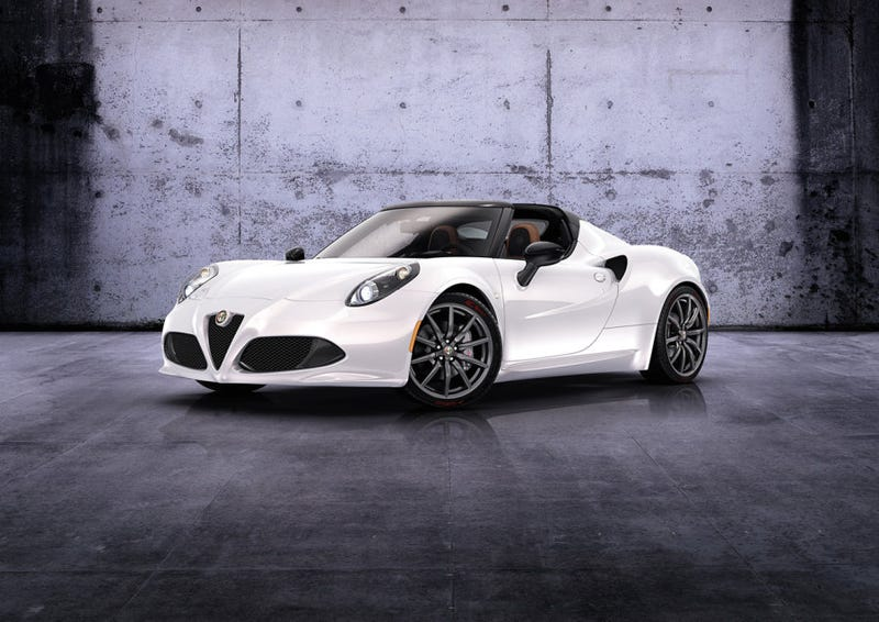Illustration for article titled Good News! Alfa will offer future 4C buyers a choice of headlights!