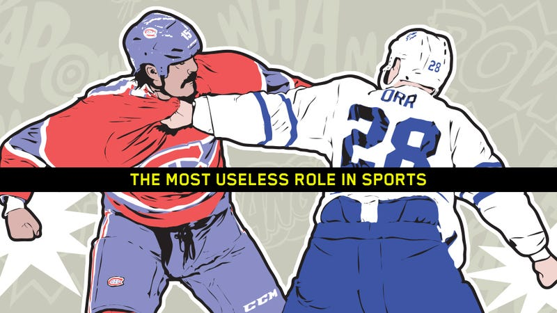 Illustration for article titled The Enforcer Fallacy: Hockey's Fighting Specialists Don't Protect Anyone