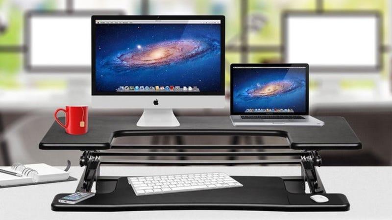 HalterED-600 Height Adjustable Desk, $130