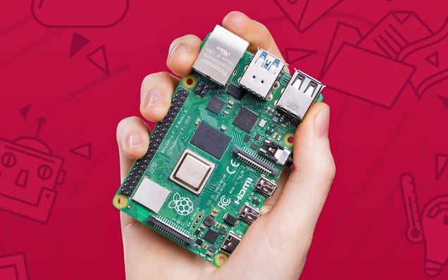 The $35 Raspberry Pi Desktop Computer Now Comes With Twice as Much RAM