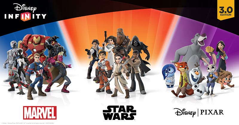 Illustration for article titled No Big Disney Infinity Release This Year But Plenty Of New Stuff