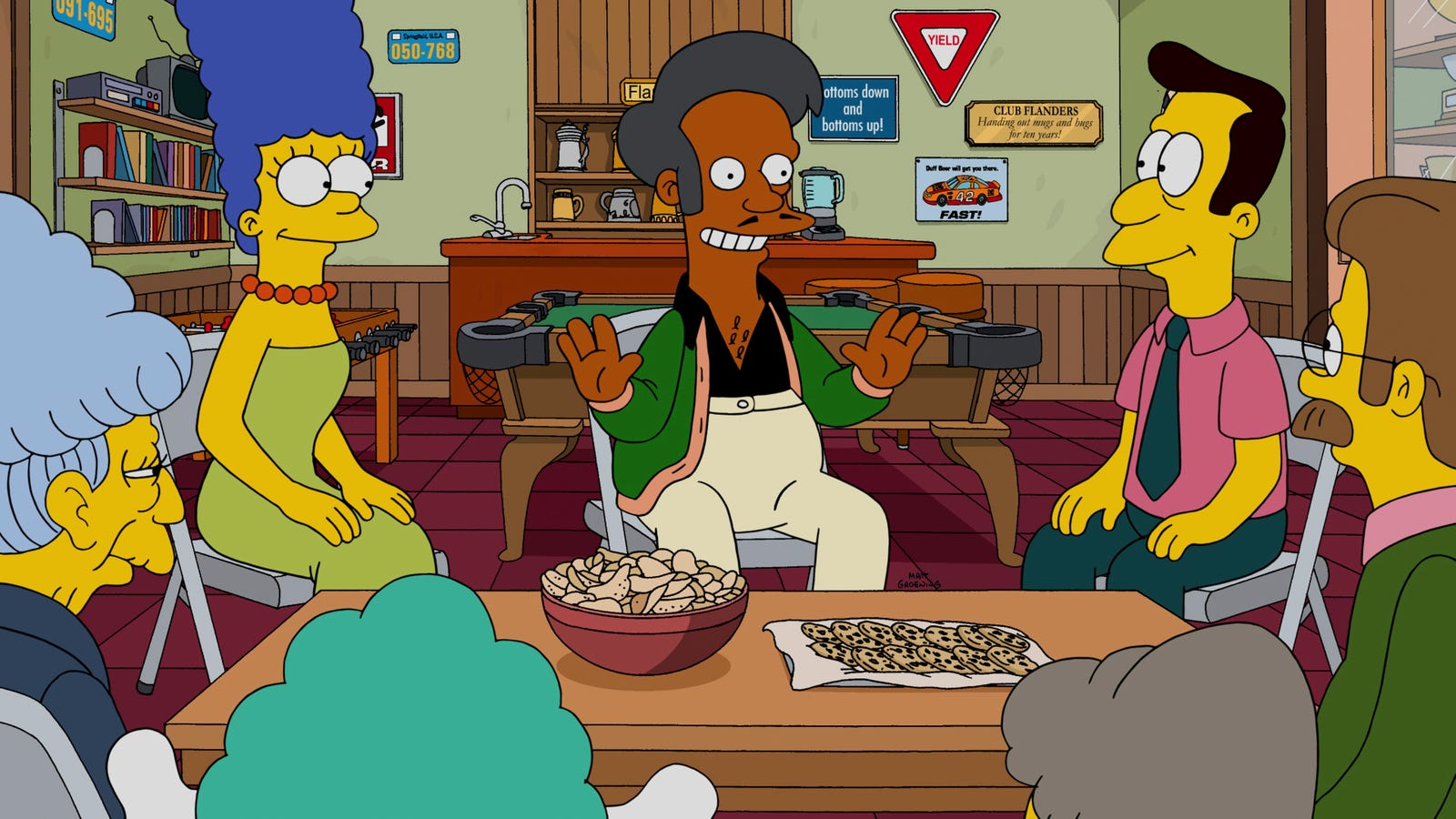 What can you do about Apu? The Simpsons used to know