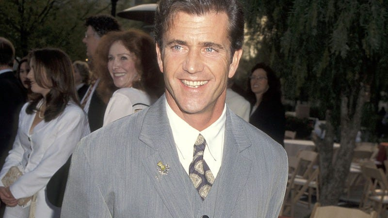 Mel Gibson in 1995 (Getty Images/WireImage, Ron Galella, Ltd.)