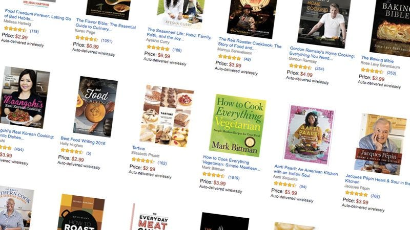 Illustration for article titled Today's best deals: Kindle cookbooks, a SodaStream, and more