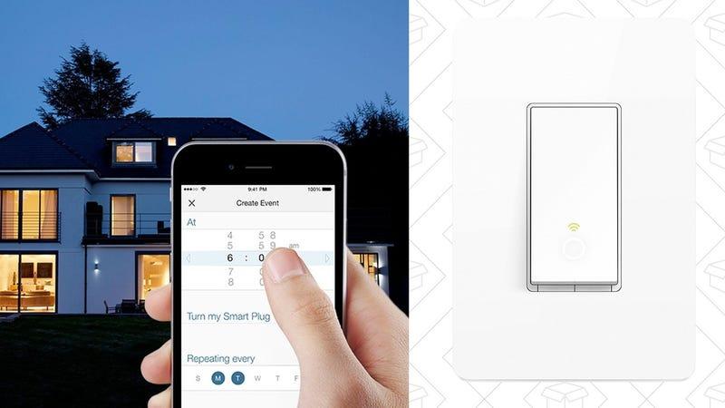 Interruptor inteligente TP-Link con WiFi | $30 | Amazon