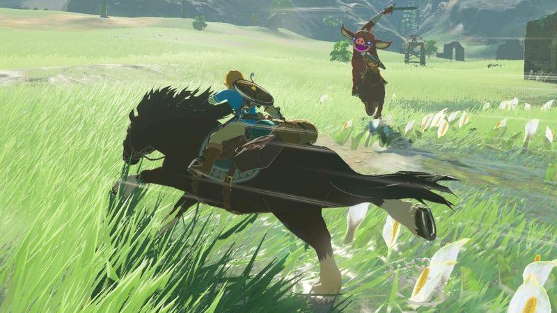 Screenshot: The Legend Of Zelda: Breath Of The Wild/Nintendo