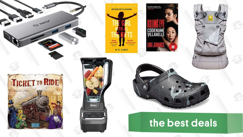 Illustration for article titled Sunday's Best Deals: Crocs, Philips Hue, Ninja Blender, and More