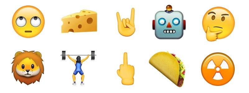Illustration for article titled Estos son los nuevos emojis que llegan con iOS 9.1