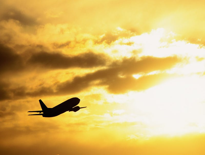 Illustration for article titled Aging Airliner Flies Out To Sea To Die