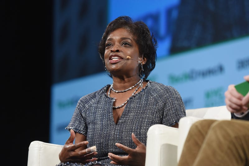 FCC Commissioner Mignon Clyburn  onstage during TechCrunch Disrupt NY 2017, Day 2, at Pier 36 on May 16, 2017, in New York City