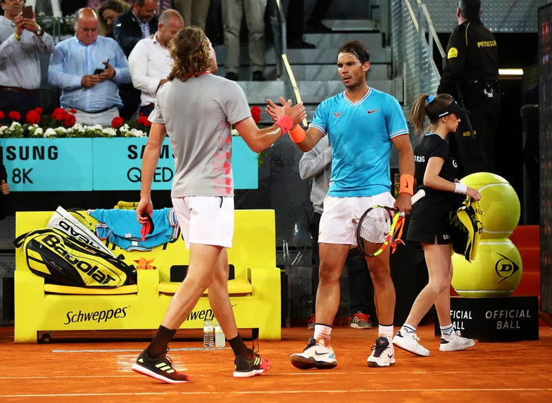 Illustration for article titled Stefanos Tsitsipas Became One Of The Few To Take Out Rafael Nadal On Clay
