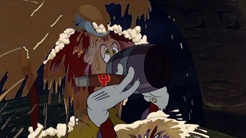 A scene from Pinocchio
