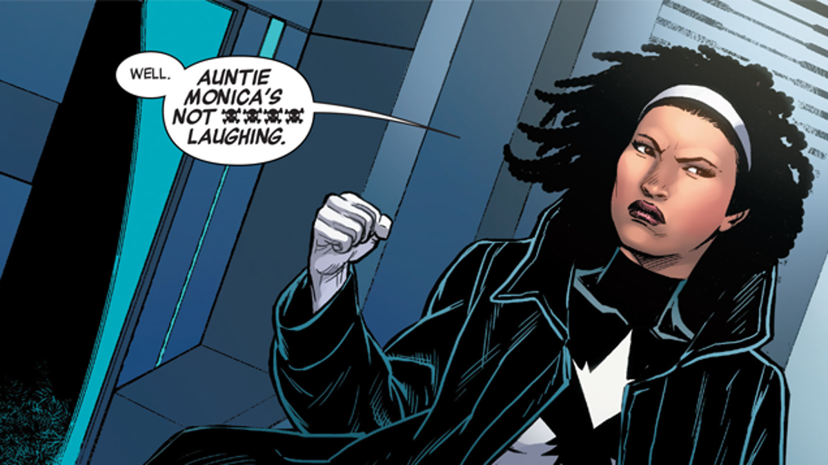 The Unfortunate and Obscure History of Monica Rambeau, the First
