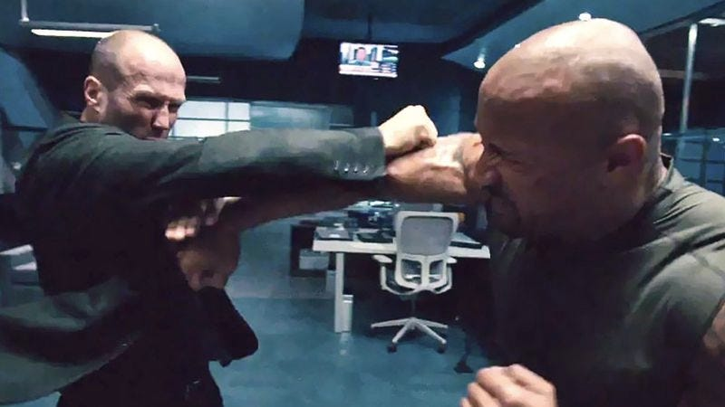 Illustration for article titled Website answers question: How long till Jason Statham punches someone?