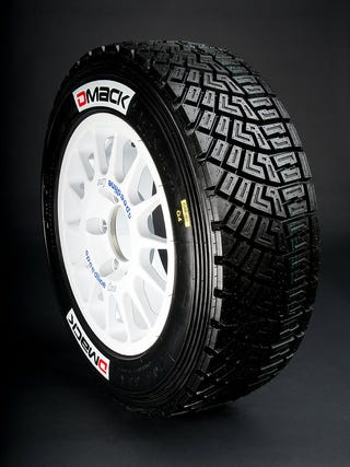 Pictured: Overkill and probably not DOT-legal DMACK DMG2 tires