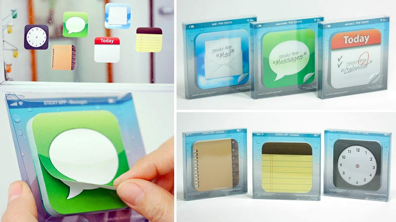 Illustration for article titled App Icon Sticky Notes Turn Your Whole World Into iOS