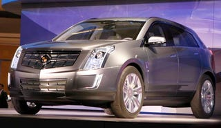 Illustration for article titled Detroit Auto Show: Cadillac Provoq Hydrogen Fuel Cell Concept