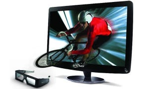 Illustration for article titled Acer's 3D Monitor Uses NVIDIA's 3D Vision Tech For Some Cheap 3D Thrills