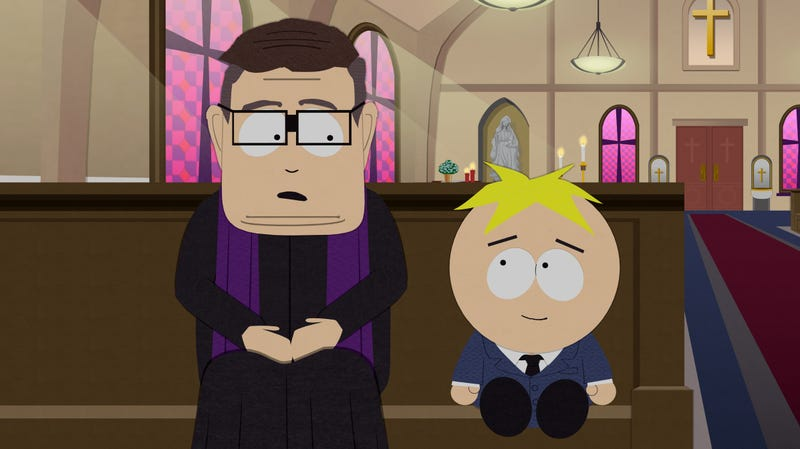 Illustration for article titled The Catholic League has an issue with South Park's depiction of Catholic priests