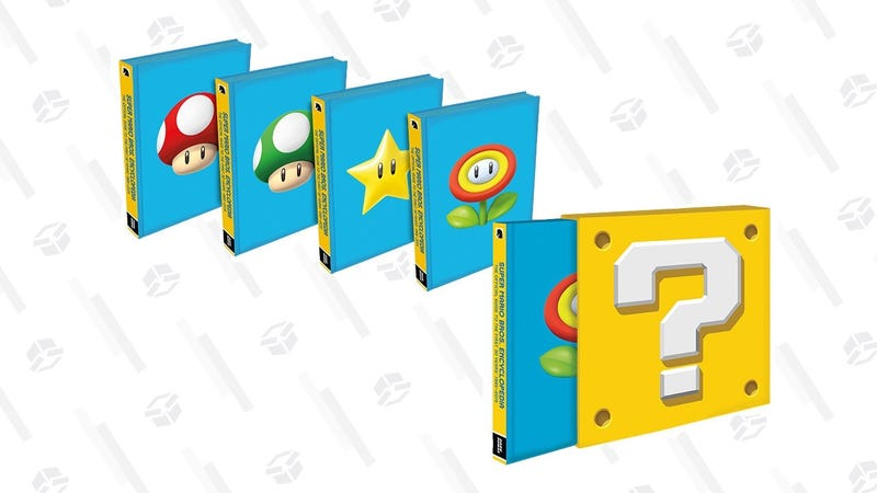 Super Mario Encyclopedia | $36 | Amazon