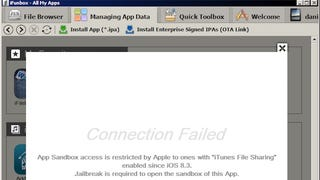 Illustration for article titled iOS 8.3 Prevents Desktop File Explorers from Accessing Apps